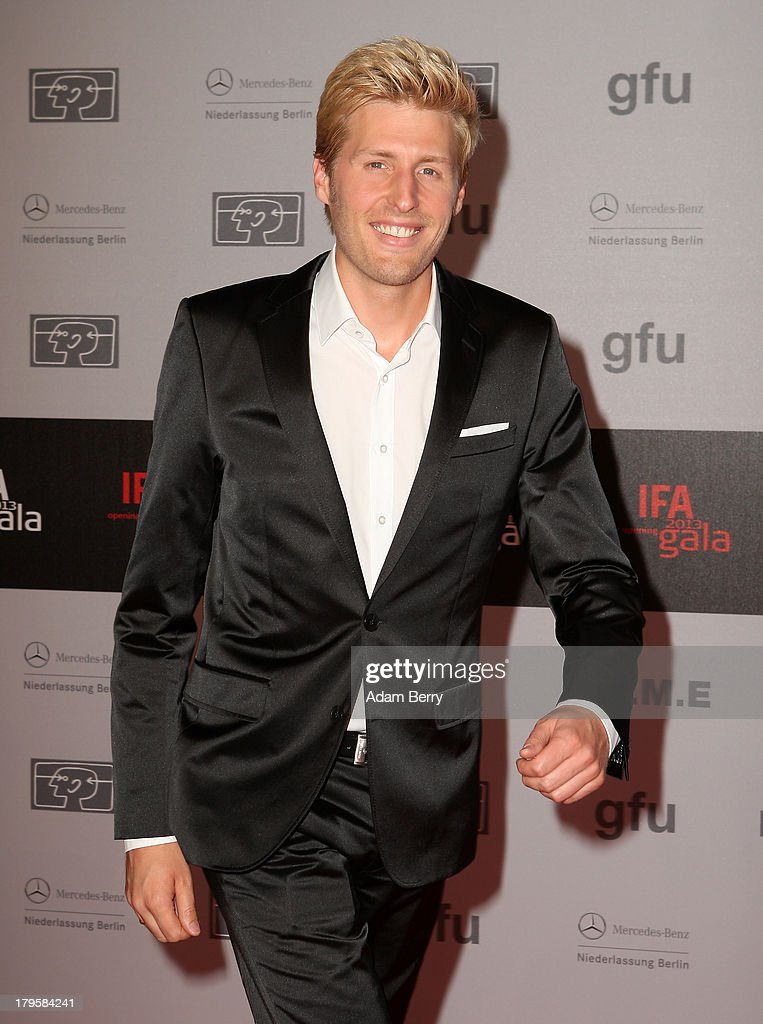 Maxi Arland arrives for the IFA 2013 Consumer Technology Trade Fair Opening Gala at Messe Berlin on September 5, 2013 in Berlin, Germany.