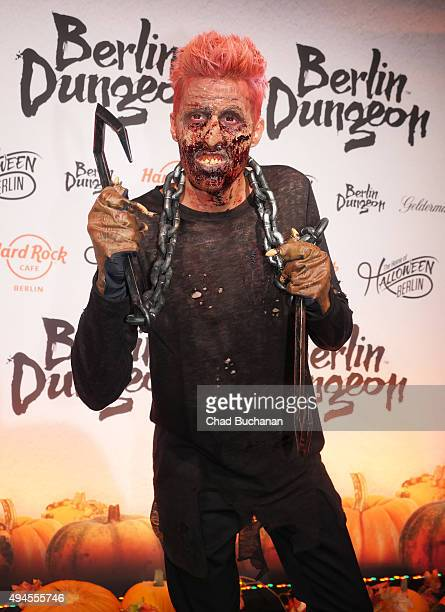 Maxi Arland attends the Halloween party at Berlin Dungeon on October 27 2015 in Berlin Germany