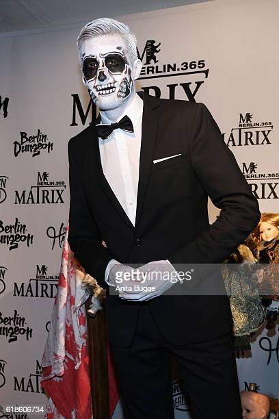 Maxi Arland attends the Halloween party by Natascha Ochsenknecht at Berlin Dungeon on October 27 2016 in Berlin Germany
