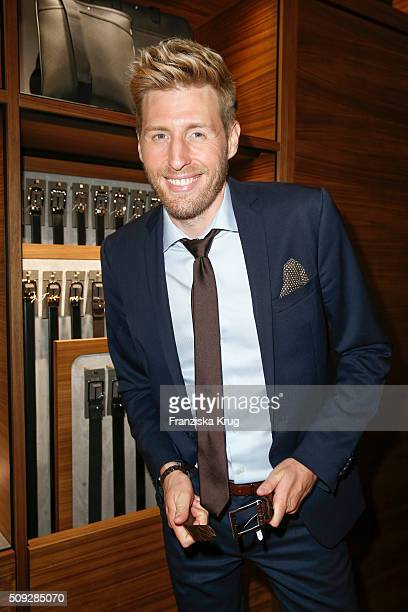 Maxi Arland attends the Montblanc House Opening on February 09 2016 in Hamburg Germany