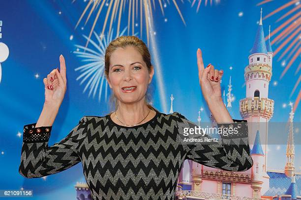 Maxi Biewer attends the premiere of 'Disney on Ice 100 Jahre voller Zauber' at Lanxess Arena on November 4 2016 in Cologne Germany