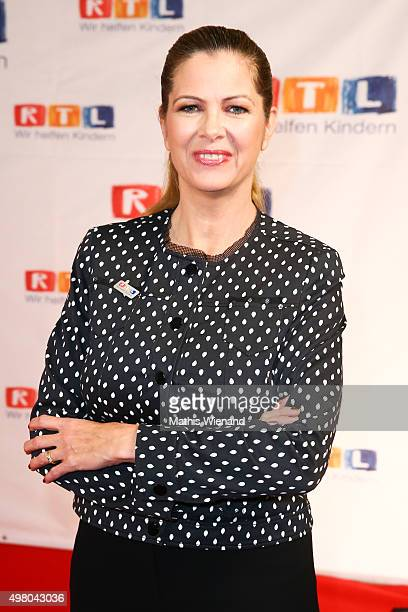 Maxi Biewer attends the RTL Telethon 2015 on November 19 2015 in Cologne Germany This year marks the 20th anniversary of the RTL Telethon Instead of...
