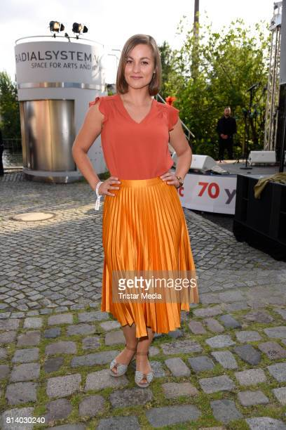 Maxi Geithner attends the 70th anniversary party of Budde Music on July 13 2017 in Berlin Germany