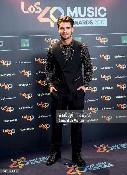 Maxi Iglesias attends 40 Principales Awards candidates dinner 2017 on September 14 2017 in Madrid Spain