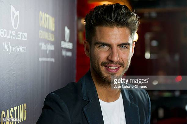 Maxi Iglesias attends Equivalenza Casting photocall at El Principito on October 25 2016 in Madrid Spain