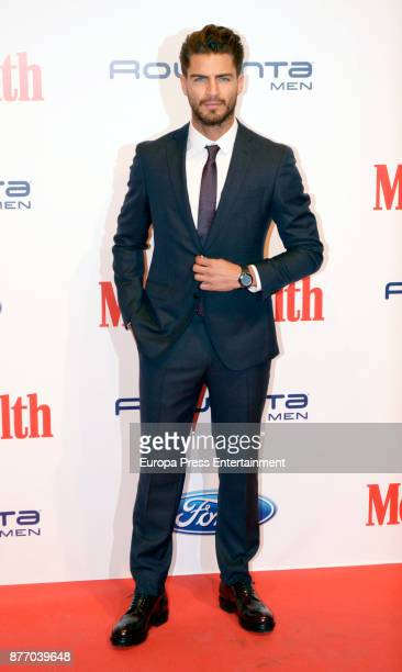 Maxi Iglesias attends Men's Health 2017 Awards photocall at Goya theater on November 20 2017 in Madrid Spain