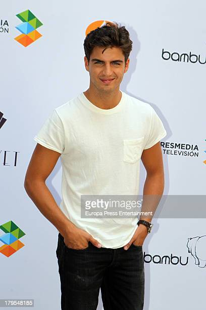 Maxi Iglesias attends the 'Galerias Velvet' new season presentation during day three of 5th FesTVal Television Festival 2013 on September 4 2013 in...