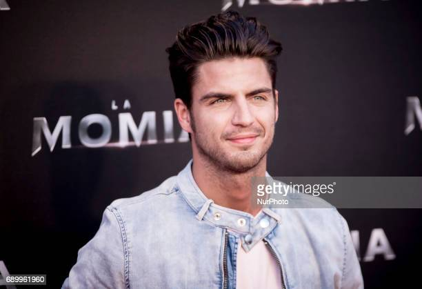 Maxi Iglesias attends 'The Mummy' premiere at Callao Cinema on May 29 2017 in Madrid Spain