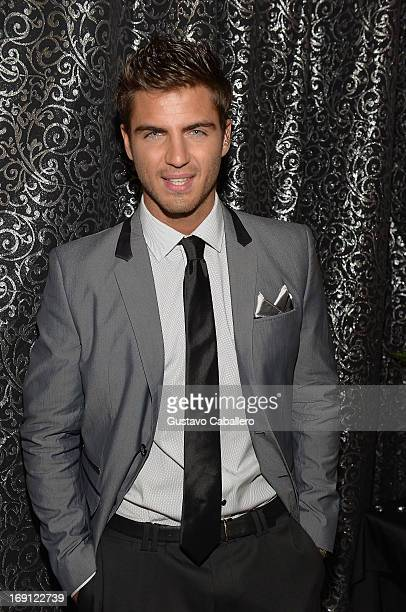 Maxi Iglesias attends Univisions Nuestra Belleza Latina Grand Finale at Univision Headquarters on May 19 2013 in Miami Florida