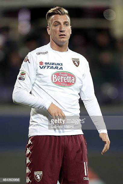 Maxi Lopez of Torino FC looks on during the Serie A match between ACF Fiorentina and Torino FC at Stadio Artemio Franchi on February 22 2015 in...