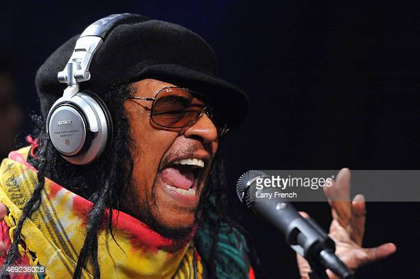Maxi Priest performs at SiriusXM Studio during The SiriusXM Reggae Session On The Joint on April 10 2015 in Washington DC