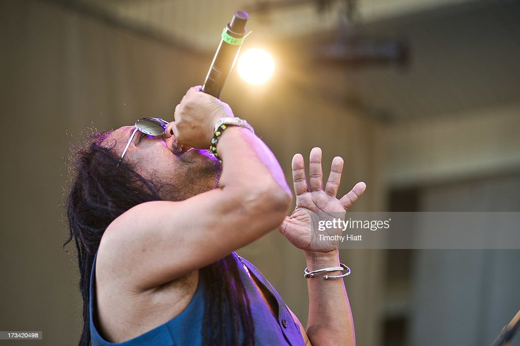 Maxi Priest performs during the 2013 Taste Of Chicago at Grant Park on July 13, 2013 in Chicago, Illinois.