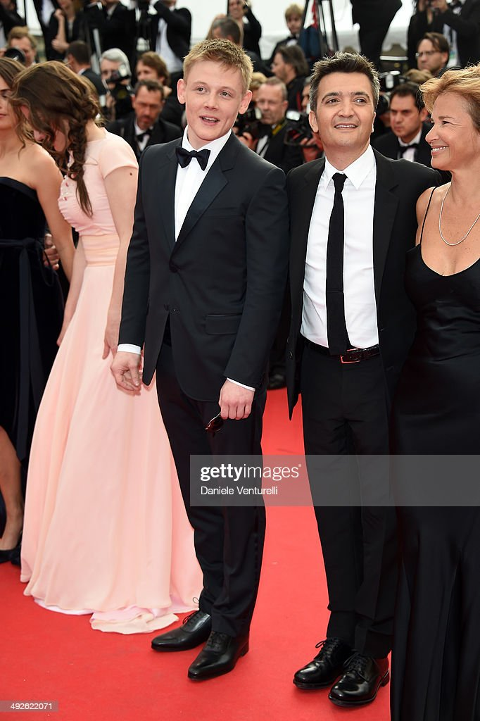 Maxim Emelianov and Thomas Langmann attend 'The Search' Premiere at the 67th Annual Cannes Film Festival on May 21 2014 in Cannes France