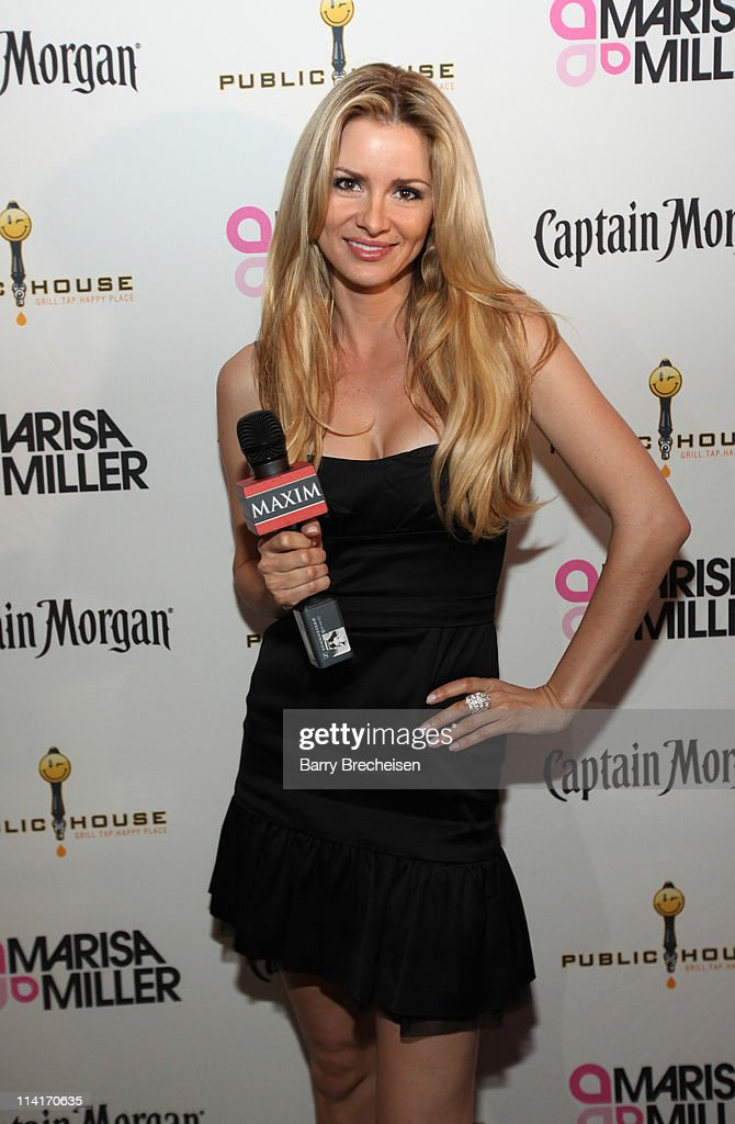 Maxim Hometown Hottie Winner April Rose attends the Marisa Miller and Maxim Host Legendary Birthday Party for Captain Morgan at Public House in Chicago at Public House on May 13, 2011 in Chicago, Illinois.