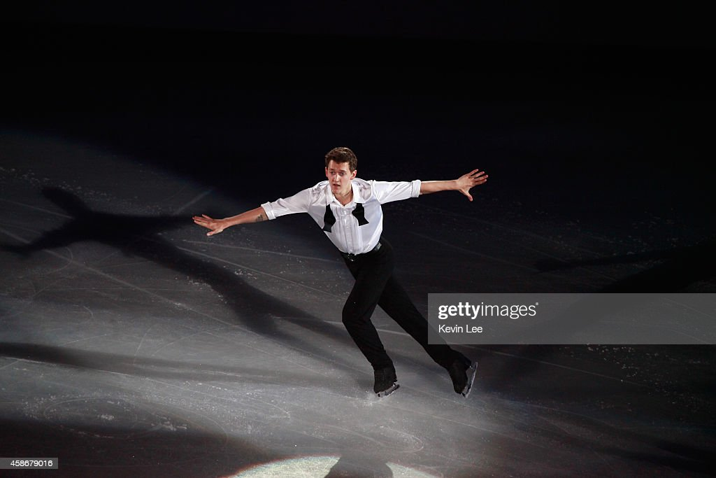<a gi-track='captionPersonalityLinkClicked' href=/galleries/search?phrase=Maxim+Kovtun&family=editorial&specificpeople=10051766 ng-click='$event.stopPropagation()'>Maxim Kovtun</a> of Russia perform his routine in the ISU Gala during day three of the Lexus Cup of China 2014 at Oriental Sport Center on December 8, 2013 in Shanghai, China