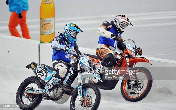 Maxime EMERY / Sylvain DABERT Trophe Andros 2011 Finale Pilot Bike Stade de France Photo Dave Winter / Icon Sport