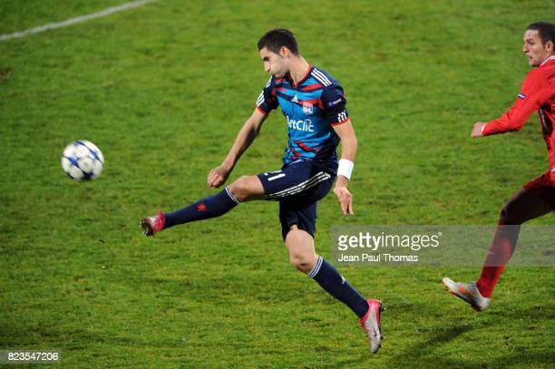 Maxime GONALONS Lyon / Hapoel Tel Aviv Champions League