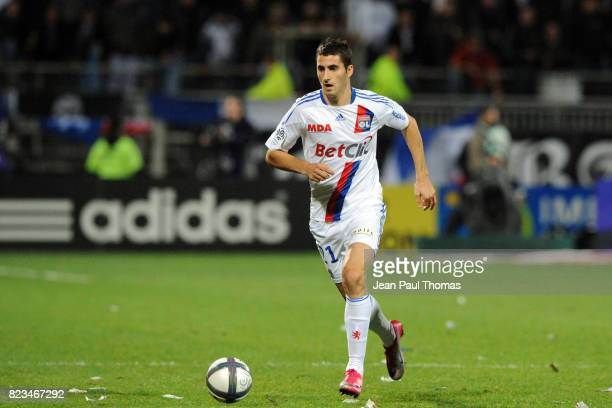 Maxime GONALONS Lyon / Nice 13e journee Ligue 1
