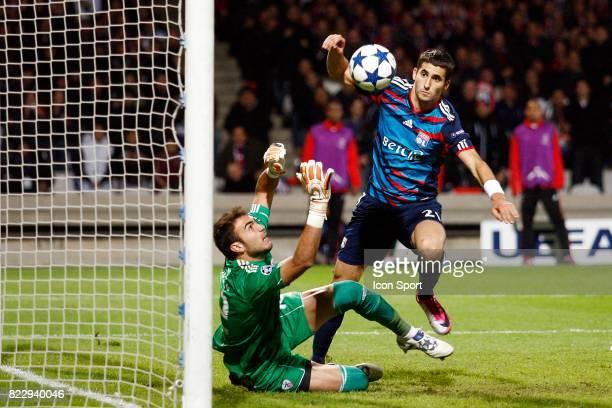 JIMENEZ / Maxime GONALONS Lyon / Benfica Champions League