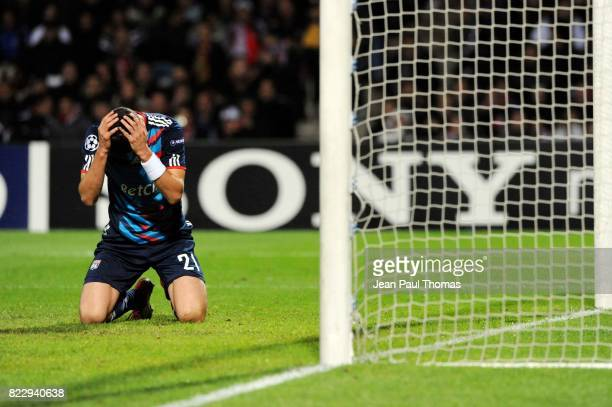 Maxime GONALONS Lyon / Benfica Champions League