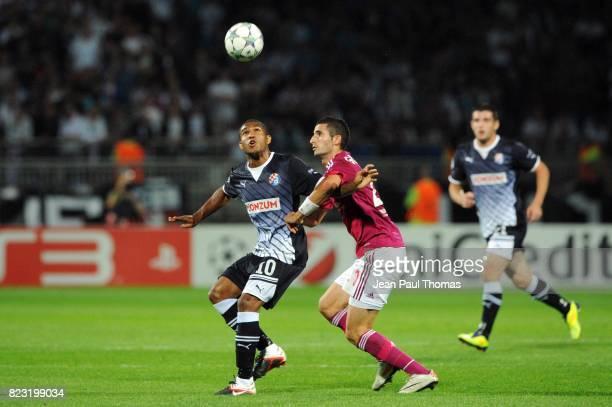 SAMMIR / Maxime GONALONS Lyon / Dinamo Zagreb Champions League