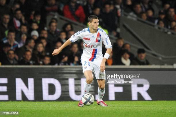 Maxime GONALONS Lyon / Sochaux 11eme journee de Ligue 1