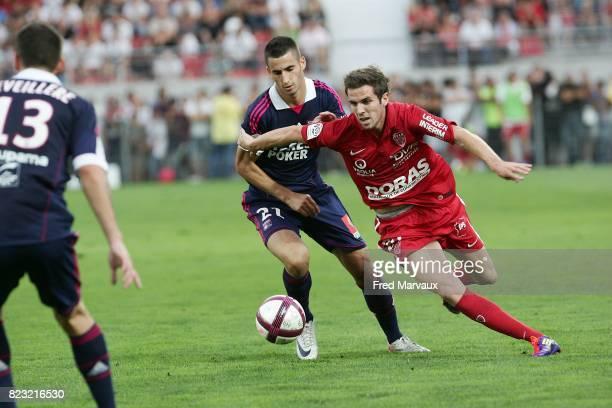 Maxime GONALONS / Benjamin CORGNET Dijon / Lyon 5eme journee de Ligue 1