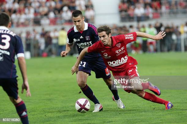 Maxime GONALONS / Benjamin CORGNET Dijon / Lyon 6eme journee de Ligue 2