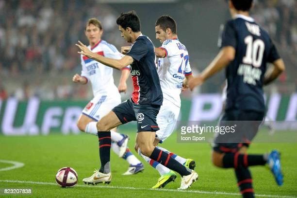 Maxime GONALONS / Javier PASTORE Paris Saint Germain / Lyon 9e journee Ligue 1