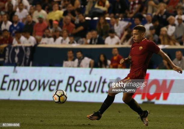 Maxime Gonalons of AS Roma in action during a friendly match between AS Roma and Tottenham within International Champions Cup 2017 at Redbull Arena...