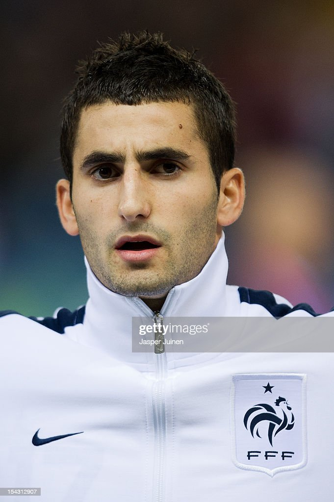 <a gi-track='captionPersonalityLinkClicked' href=/galleries/search?phrase=Maxime+Gonalons&family=editorial&specificpeople=6256905 ng-click='$event.stopPropagation()'>Maxime Gonalons</a> of France looks on during the FIFA 2014 Group I World Cup Qualifier game between Spain and France at the Vicente Calderon Stadium on October 16, 2012 in Madrid, Spain.