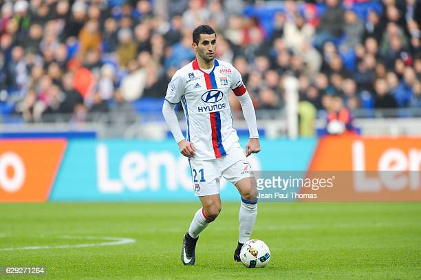 Maxime GONALONS of Lyon during the French Ligue 1 match between Lyon and Rennes at Stade des Lumieres on December 11 2016 in Decimes France