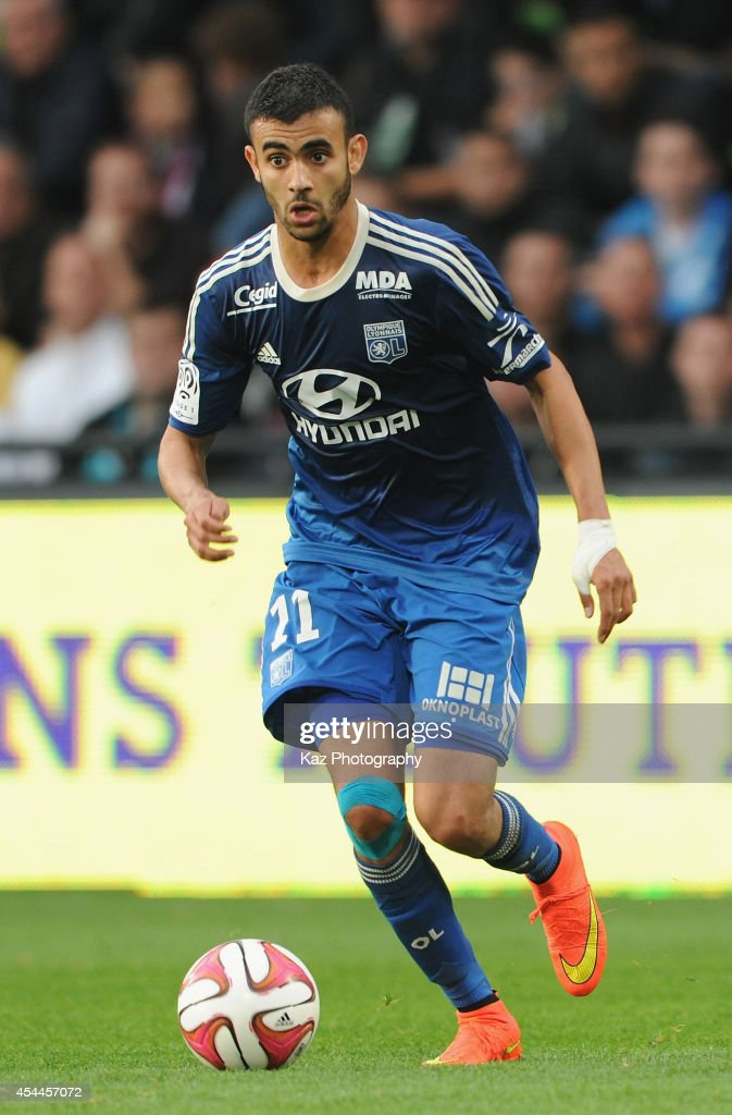 <a gi-track='captionPersonalityLinkClicked' href=/galleries/search?phrase=Maxime+Gonalons&family=editorial&specificpeople=6256905 ng-click='$event.stopPropagation()'>Maxime Gonalons</a> of Lyon in action during the French Ligue 1 match between FC Metz and Olympique Lyonnais at Stade Saint-Symphorien on August 31, 2014 in Metz, France.