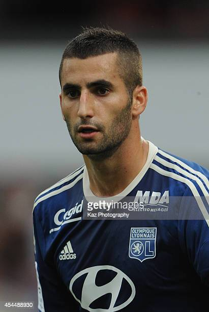 Maxime Gonalons of Lyon in action during the French Ligue 1 match between FC Metz and Olympique Lyonnais at Stade SaintSymphorien on August 31 2014...