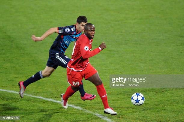 Maxime GONALONS / Toto TAMUZ Lyon / Hapoel Tel Aviv Champions League