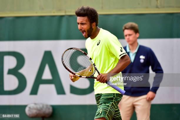 Maxime HAMOU Jour 3 Roland Garros 2015 Photo Dave Winter / Icon Sport