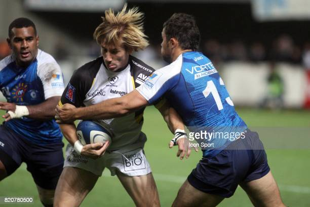 Maxime LEBOURHIS Montpellier / La Rochelle 8eme journee de Top 14