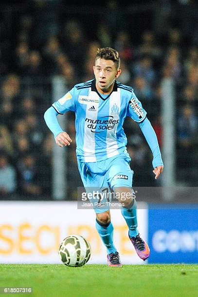 Maxime LOPEZ of Marseille during the League cup match between Clermont and Olympique de Marseille on October 26 2016 in Clermont France