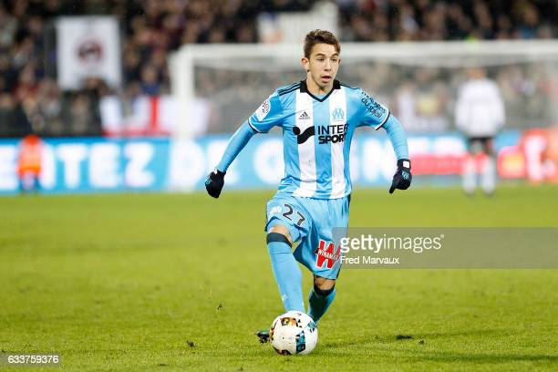 Maxime Lopez of Marseille during the Ligue 1 match between FC Metz and Olympique de Marseille at Stade SaintSymphorien on February 3 2017 in Metz...