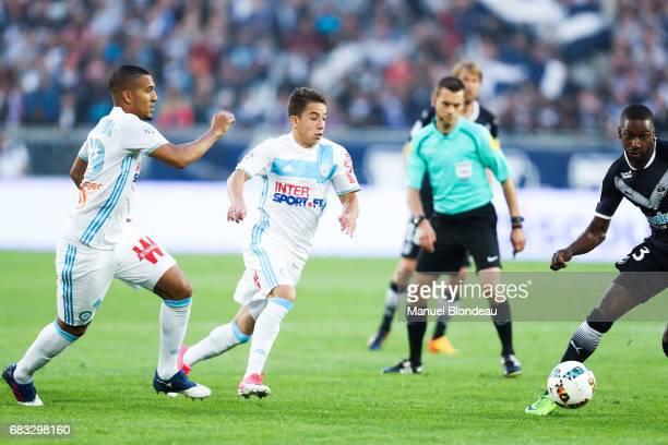 Maxime Lopez of Marseille during the Ligue 1 match between Girondins de Bordeaux and Olympique de Marseille at Nouveau Stade de Bordeaux on May 14...
