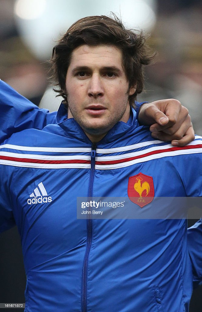 Maxime Machenaud of France poses before the 6 Nations match between France and Wales at the Stade de France on February 9, 2013 in Paris, France.