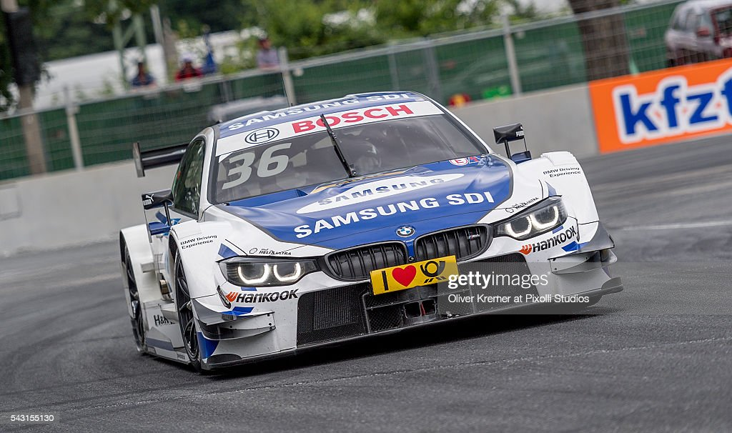 Maxime Martin (BEL) of BWM Team RBM racing for the German Touring Car Championship at the Norisring during Day 2 of the 74. International ADAC Norisring Speedweekend on June 26, 2016 in Nuremberg, Germany.