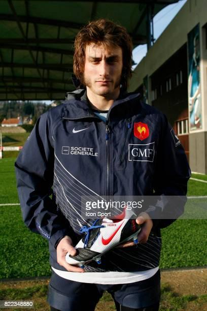Maxime MEDARD Entrainement de l'Equipe de France presetation des nouvelles chaussures nike Marcoussis
