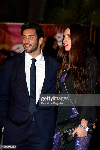 Maxime Mermoz attends the 15th NRJ Music Awards at Palais des Festivals on December 14 2013 in Cannes France