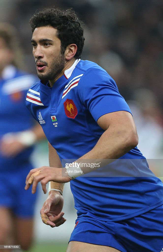 Maxime Mermoz of France in action during the 6 Nations match between France and Wales at the Stade de France on February 9, 2013 in Paris, France.