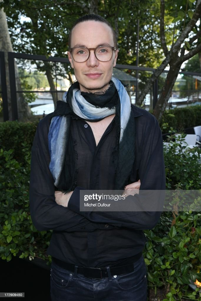 Maxime Simoens attends the Chambre Syndicale de la Haute Couture cocktail party at Palais De Tokyo on July 4, 2013 in Paris, France.