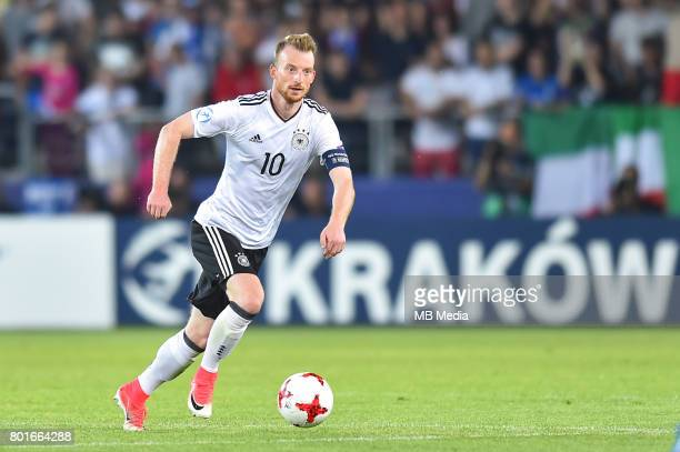Maximilian Arnold during the UEFA European Under21 match between Italy and Germany on June 24 2017 in Krakow Poland
