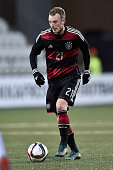 Maximilian Arnold of Germany controls the ball during the 2017 UEFA European U21 Championships Qualifier between U21 Faroe Islands and U21 Germany at...