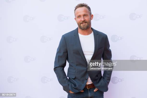 Maximilian Brueckner arrives at the ZDF reception during the Munich Film Festival at Hugo's on June 27 2017 in Munich Germany
