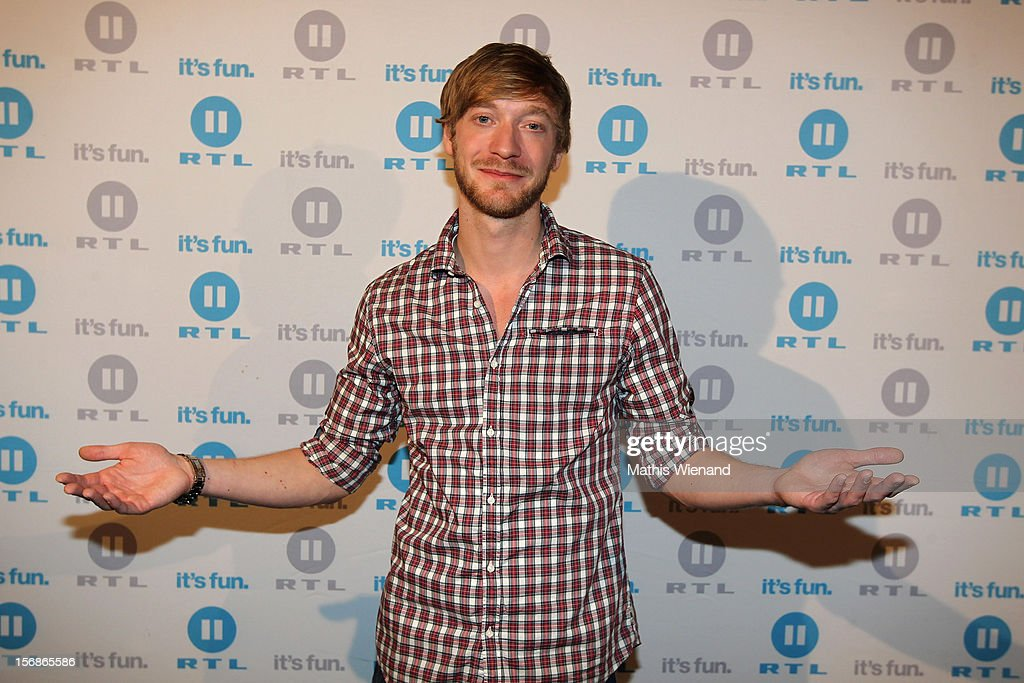Maximilian Hofstetter attends the 'Koeln 50667' Press Conference at the Kunstbar on November 23, 2012 in Cologne, Germany.